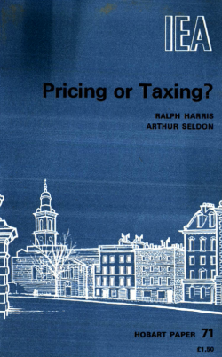 Pricing or Taxing?